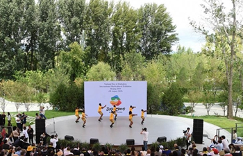 """Zimbabwe Day"" event held at Beijing International Horticultural Exhibition"
