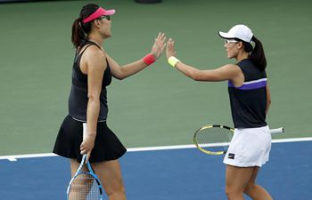 In pics: women's doubles 3rd round at US Open