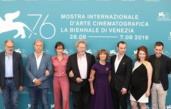 "Photocall for ""Gloria Mundi"" held in Venice"