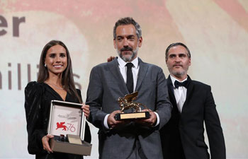 "Todd Phillips' ""Joker"" wins Golden Lion at Venice Film Festival"