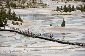 Scenery of Yellowstone National Park