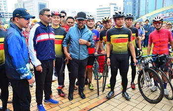 Royal Birthday Cycling Recreation 2019 event held in Brunei