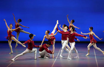 """Ballet """"Jewels"""" staged at Tianqiao Theater in Beijing"""
