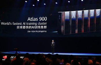 Huawei launches super fast AI training cluster