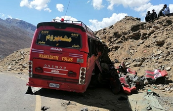 26 killed, 19 injured in Pakistan bus crash