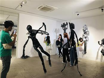 3rd Art Tianjin exhibition kicks off in China's Tianjin
