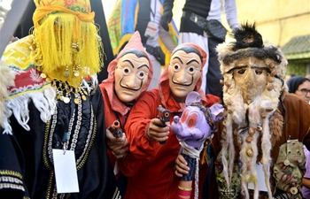 Boujloud Festival held in Sale, Morocco