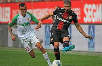 In pics: Bundesliga match between Bayer 04 Leverkusen and FC Augsburg