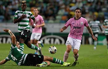UEFA Europa League group D match: Sporting CP vs. LASK Linz