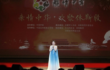 Acrobatics and Chinese traditional music performed in Houston