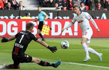 Bundesliga soccer match: Leverkusen vs. Leipzig
