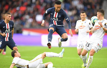 Ligue 1 match: Paris Saint-Germain vs. Angers