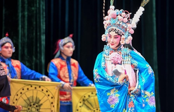 Peking Opera performed in Urumqi, northwest China's Xinjiang
