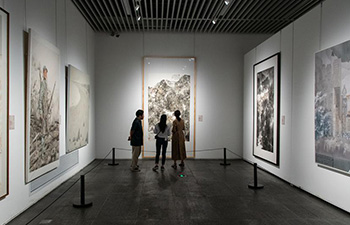 People visit Hunan Art Museum in Changsha, China's Hunan