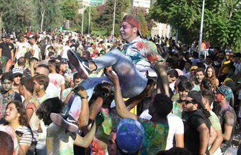 Festival of colors held in Lebanon's city Tripoli