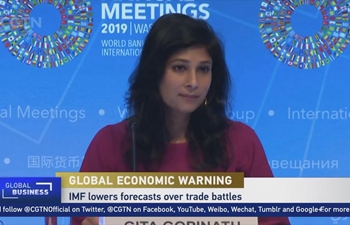 IMF lowers forecasts over trade battles