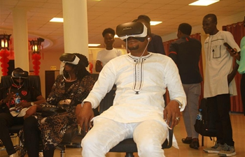 Feature: VR experience enables Nigerians' wonderful 5-minute trip to China