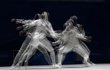 In pics: fencing bouts at 7th CISM Military World Games