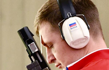Leonid Ekimov claims men's individual 25m rapid fire pistol title at Military World Games