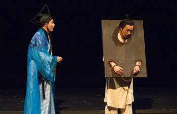 "Stage play ""Sima Qian"" performed in St. Petersburg, Russia"