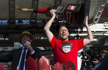 Joey Chestnut of U.S. wins 2019 World Poutine Eating Championship