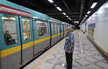 Egypt inaugurates largest subway station in Middle East