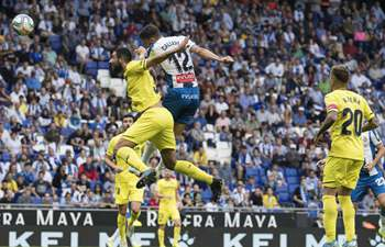 Spanish league: Espanyol vs. Villarreal