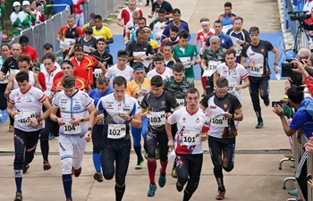 In pics: relay final of Orienteering at 7th CISM Military World Games
