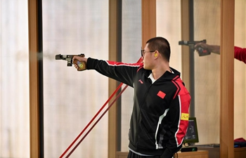 In pics: men's individual 25m center fire pistol at Military World Games