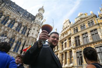 Beer Weekend activity held in Brussels, Belgium