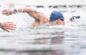7th CISM Military World Games: men's 5km of open water