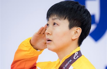 Mu Zi wins women's table tennis singles gold at Military World Games