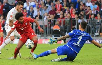 Bayern down Union Berlin 2-1 to recapture top spot in Bundesliga