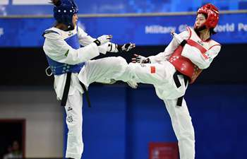 Highlights of taekwondo finals at Military World Games