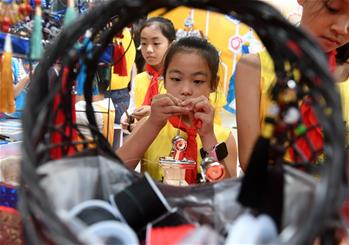 Teenage creativity fair held in Nanning, China's Guangxi