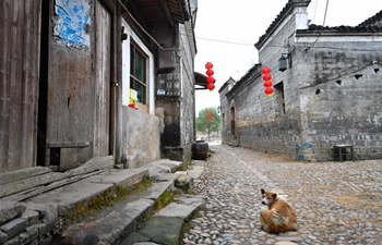 Ancient buildings well-preserved in Liukeng village, E China's Jiangxi