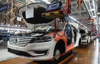 In pics: production line of SAIC Volkswagen in Shanghai