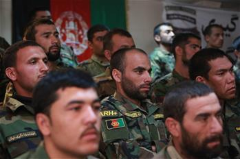 Afghan Special Operations Forces members attend graduation ceremony in Kabul