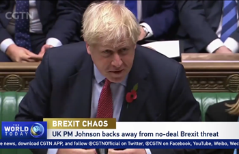 UK PM Johnson backs his deal over no-deal Brexit