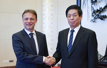 Chinese top legislator meets Croatian parliament speaker