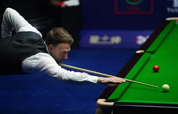 2019 Snooker World Open semifinal: Judd Trump vs. John Higgins