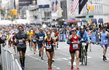 Over 50,000 runners participate in New York City Marathon