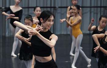 Dancing activities held in Shanghai