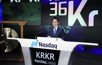 Chinese tech media site 36Kr Holdings goes public on Nasdaq