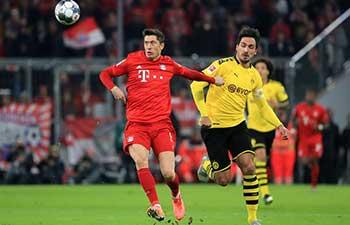 Bayern crush runners-up Dortmund 4-0 in Bundesliga