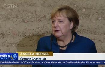 Merkel marks 30th anniversary of the fall of Berlin Wall