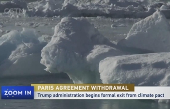 Trump administration begins formal exit from Paris climate pact