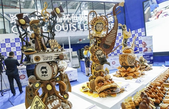 Baking competition at Asia-Pacific region of Louis Lesaffre Cup held during 2nd CIIE