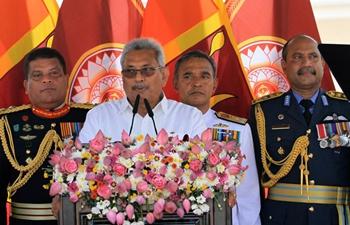 Sri Lanka's Gotabaya Rajapaksa takes oaths as executive president