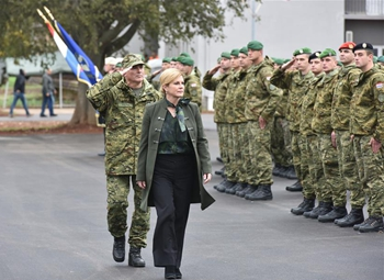 "Inauguration ceremony of barrack ""Croatian defenders of Istria"" held in Pula"